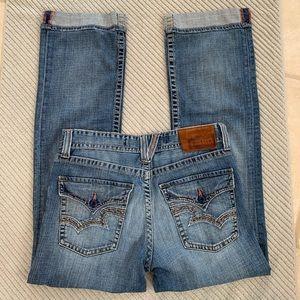Big Star Pioneer Regular Boot Cut Jeans Size 32L